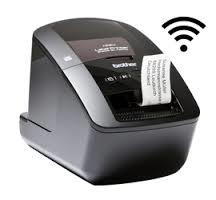 Brother Printer Label QL 720NW PC Connect with Wireless (DK Tape Series up to 62mm)