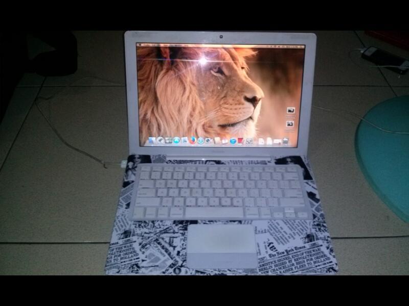 macbook white 5.2 Nvidia 256Mb secepatnyaa