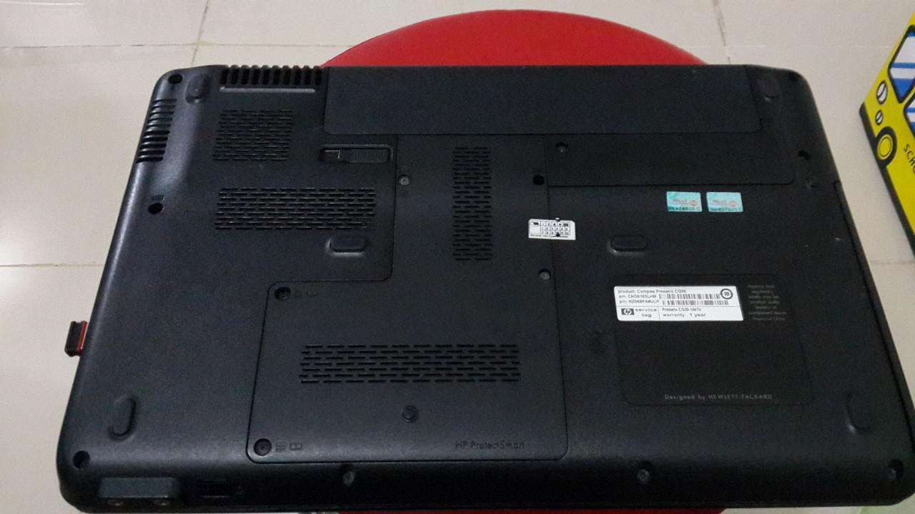 Jual Laptop Compaq presario CQ35 Dualcore T6600