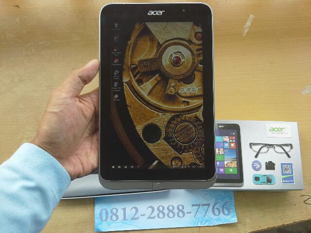 Tablet Pc Hybrid Acer iconia W4-821 Windows 8.1 GSM on Like New Baru 2 Bulan