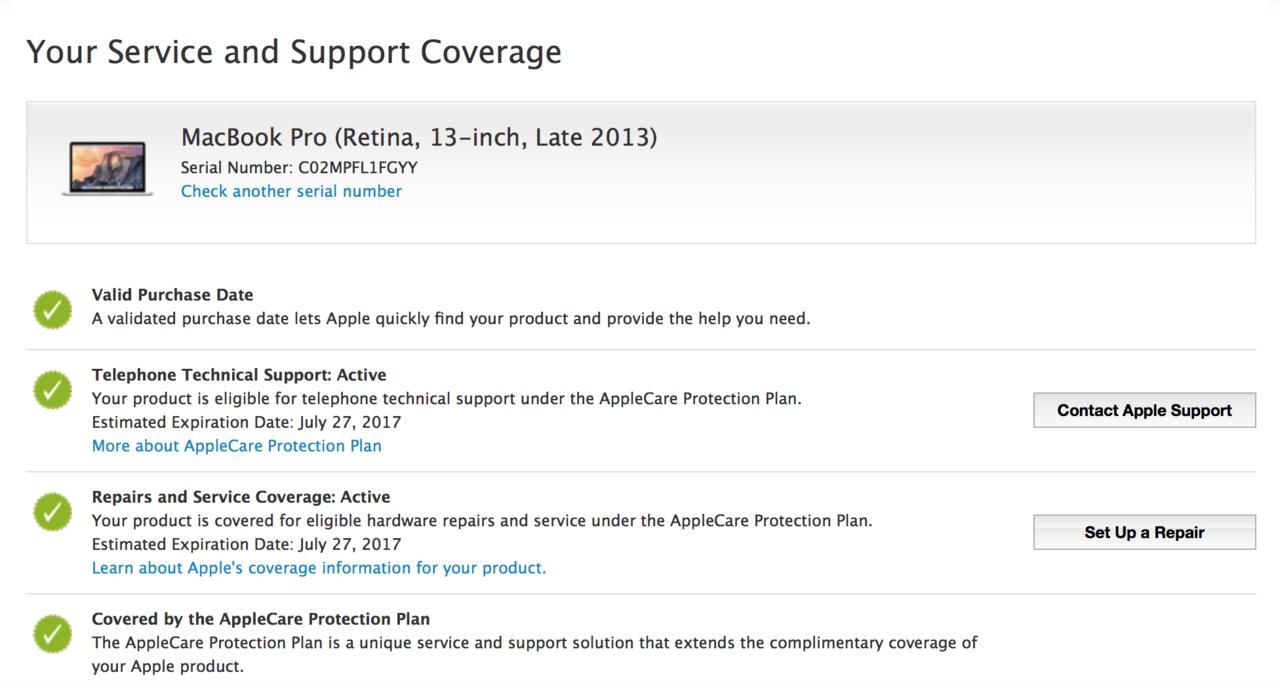 Macbook Pro 13 Late 2013 ME864 Retina Iris Garansi sampai 2017