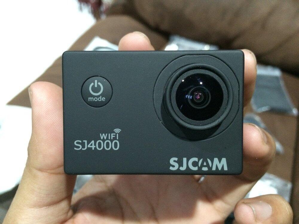 sjcam sj4000 wifi black + 16GB microsd class 10 LIKE NEW 99,999999%