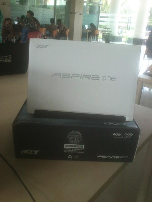 Jual Notebook Acer d270 Fullset apa ada nya | Rekber welcome