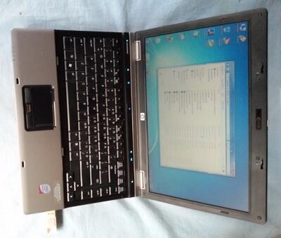 Hp Probook 6530B P8400~2.4Ghz,Hdd320,Ram2Gb 98% Mulus