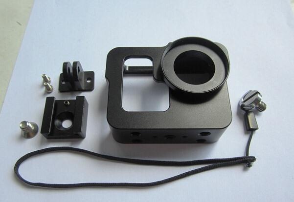 Aluminium Case dan CPL filter 37mm for gopro