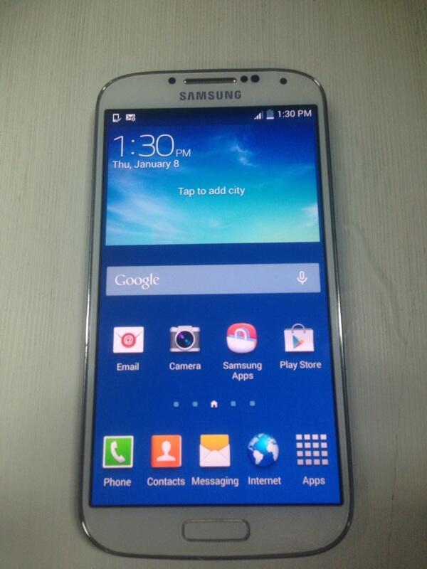Samsung Galaxy S4 White Bandung