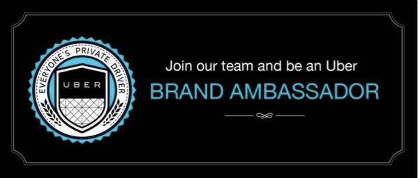 Di cari Brand Ambassador untuk UBER Jakarta