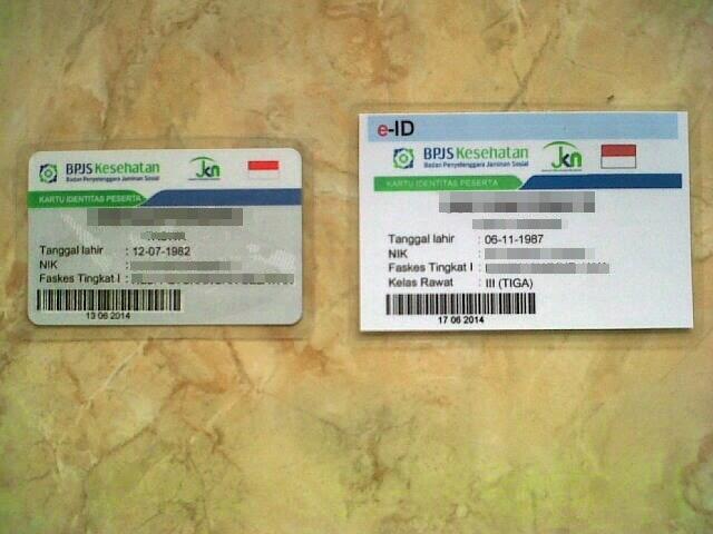 Terjual Pembuatan e-Kartu BPJS Proses 6 Jam SELESAI