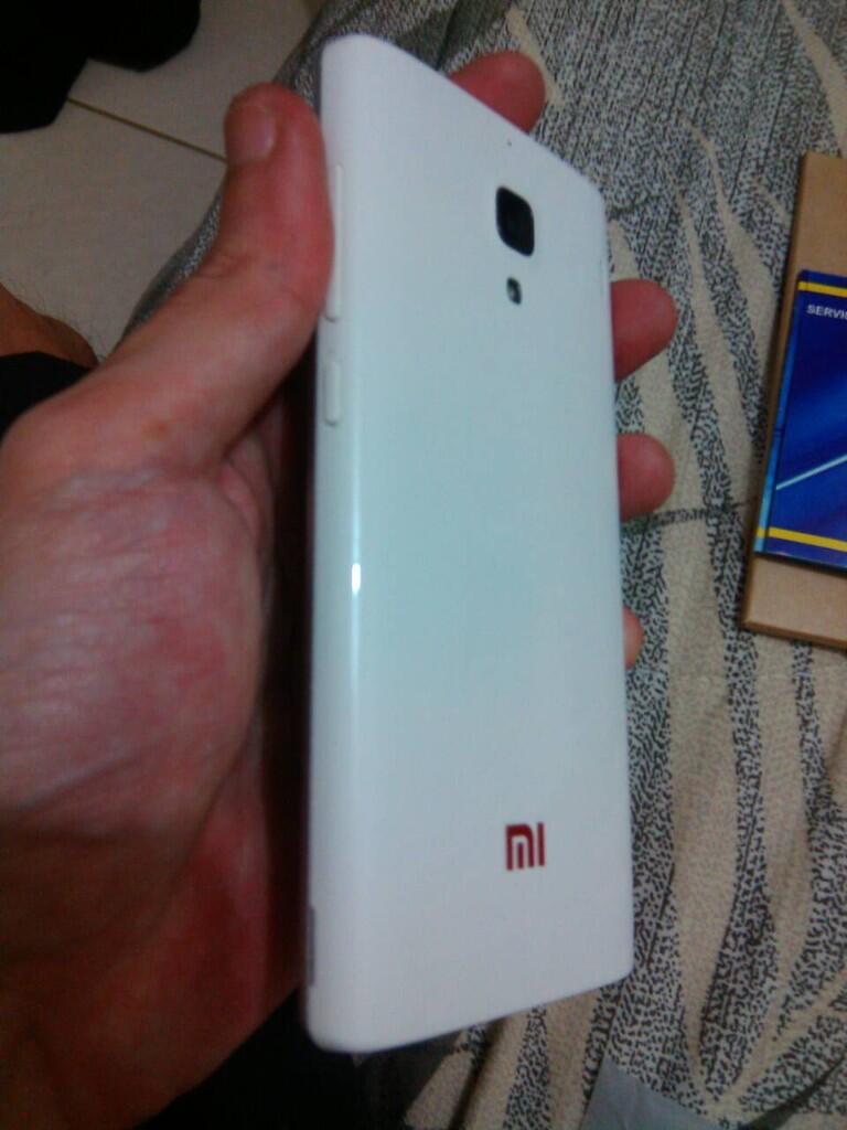 Jual Xiaomi Redmi 1s ALL WHITE Edition Full Set