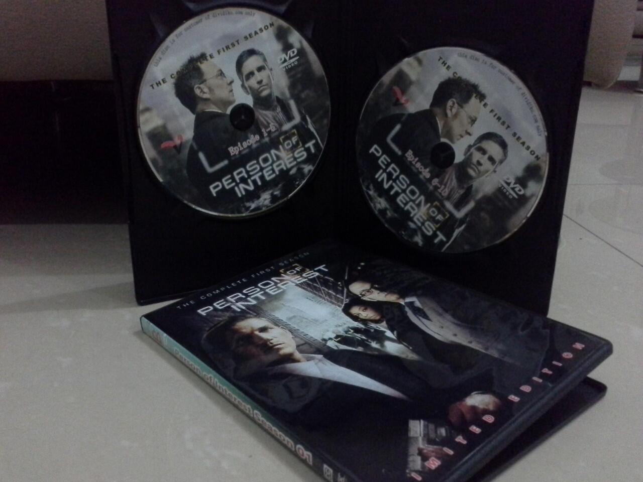 (DVD&MKV) Person of Interest (2011-2014) S01-03