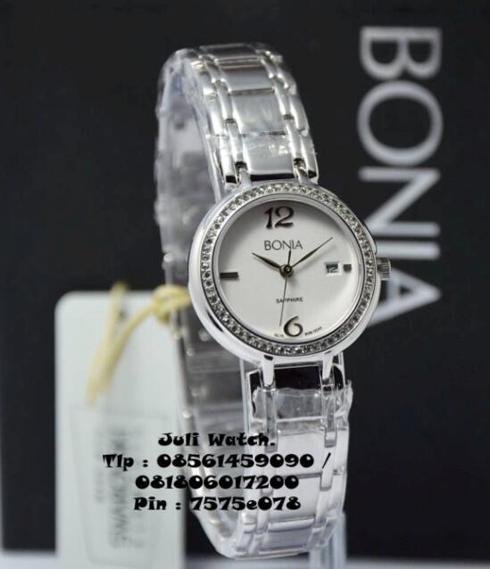 Jam Tangan Bonia Original ( garansi 1Th ) Ga Ori, uang balik 100 %.