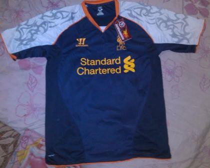 Ready Jersey Liverpool 3rd [ 2012 / 2013 ] size S M L