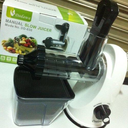 Manual Slow Juicer Dodawa : Terjual [MANUAL SLOW JUICER] DODAWA Alat Pembuat Jus Buah, Sayur dan Biji-bijian DD-830 KASKUS