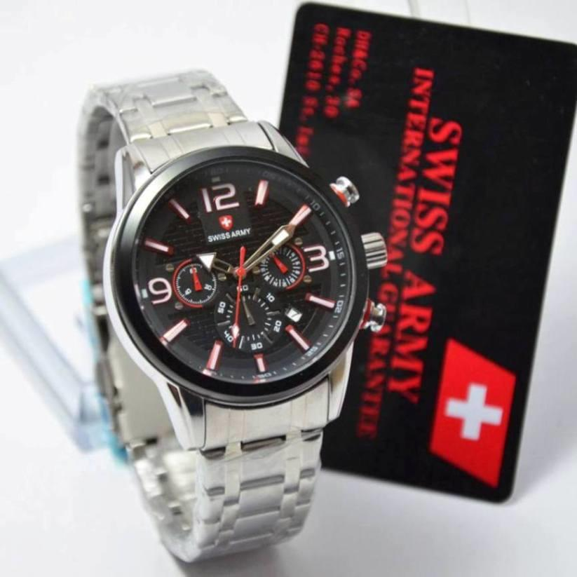 Jam Tangan Swiss Army Original Garansi 1th ( model Banyak )