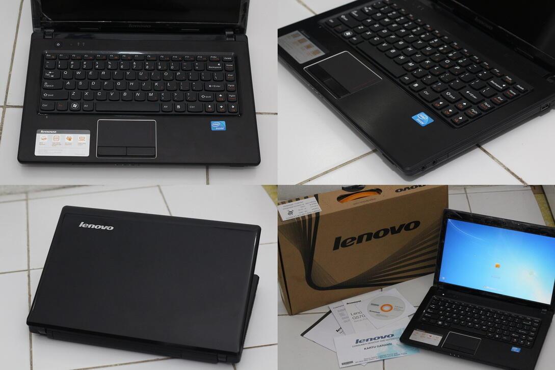 Laptop Lenovo G470 sandybridge, fulset, like new, murah! Solo