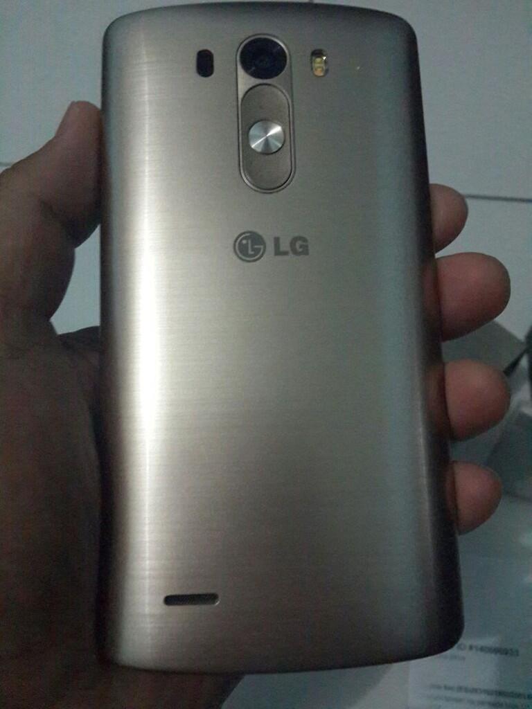 LG G3 Gold Mulusss Like New