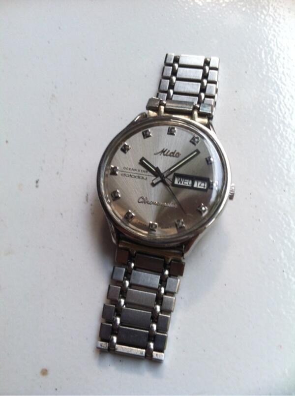 6cad1a5d02b MIDO Ocean Star Datoday Chronometer Stainless Steel Watch ORIGINAL SWISS  MADE ...
