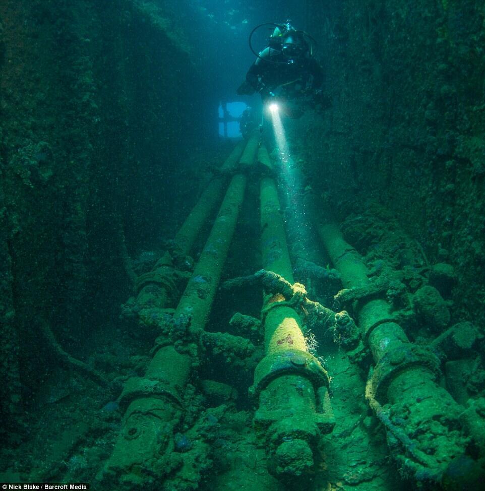 Kuburan Dasar Laut Terbesar di Dunia Berisi Ratusan Pesawat