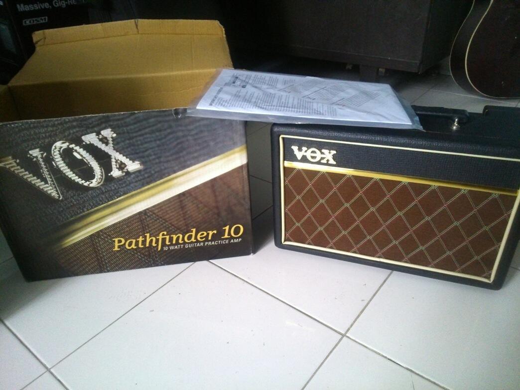 vox pathfinder 10 (gitar ampli)