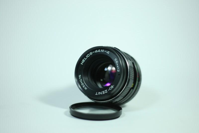 lensa manual Helios 44-4 58mm F2 MINT!