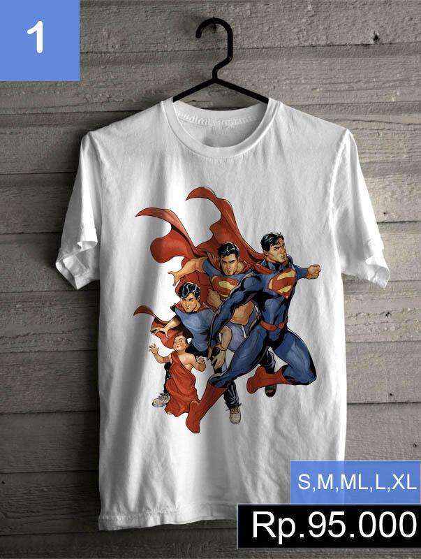 baju kaos superman