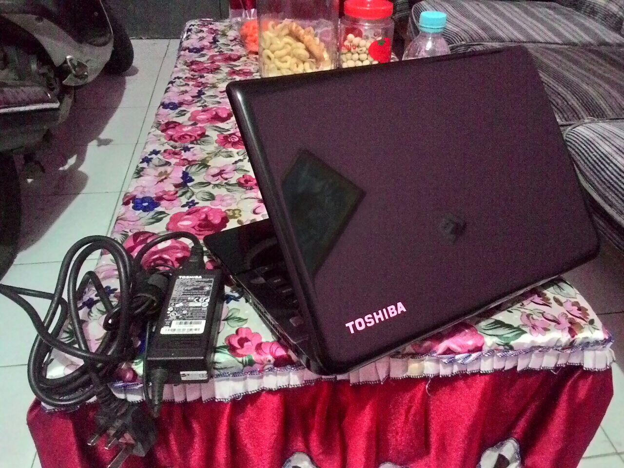 TOSHIBA C40-A | i3 IVYYBRIDGE | HD 500GB di MALANG