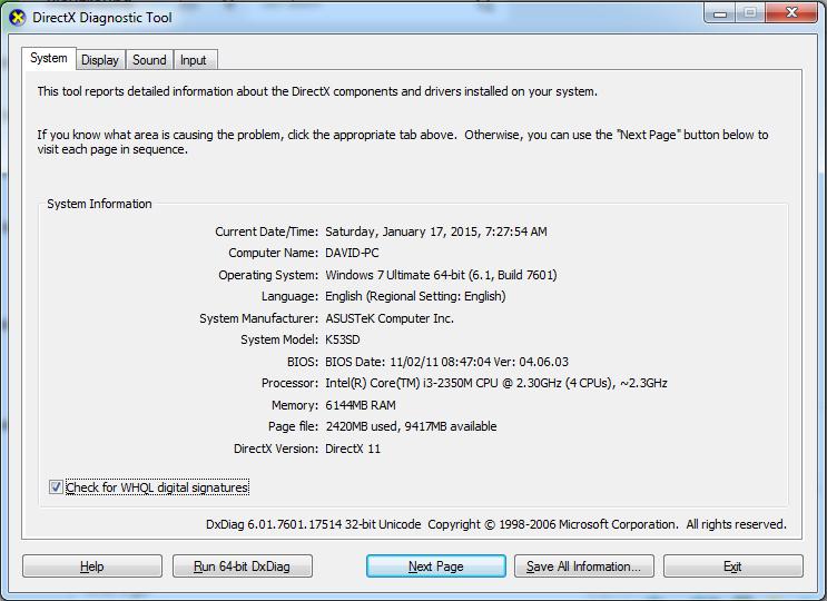 WTS : LAPTOP ASUS A53SD 2nd Like New! Buruan Gan!