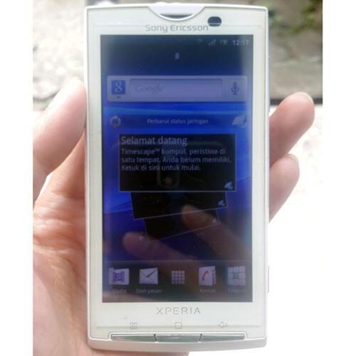 Sony Ericsson Xperia x10i Batangan Ada Minus Dikit Bandung