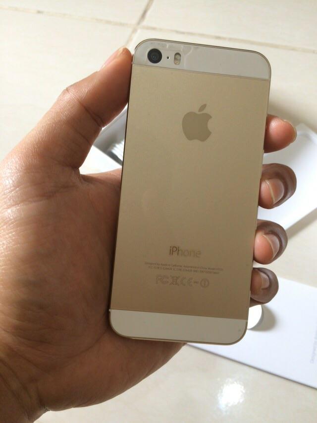 iPhone 5s Verizon gold 64gb gsm cdma second