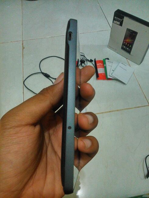 Sony Xperia SP hitam