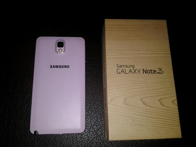 Samsung galaxi note 3 SM N900 like new murah solo