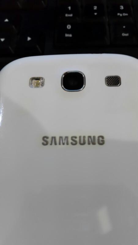 Samsung Galaxy S3 I9300 white fullset bandung COD