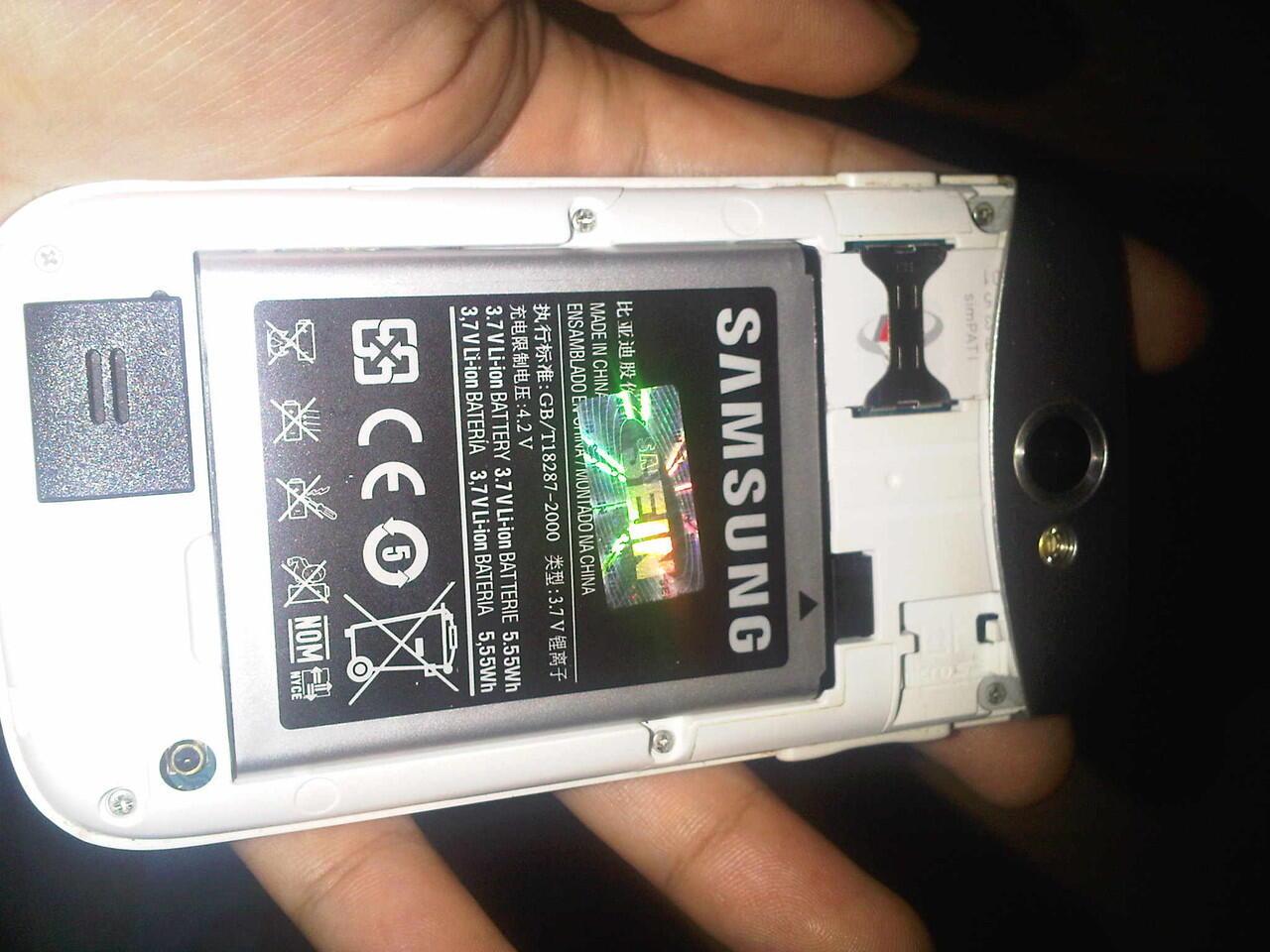Samsung Galaxy W (wonder) White Gt-i8150