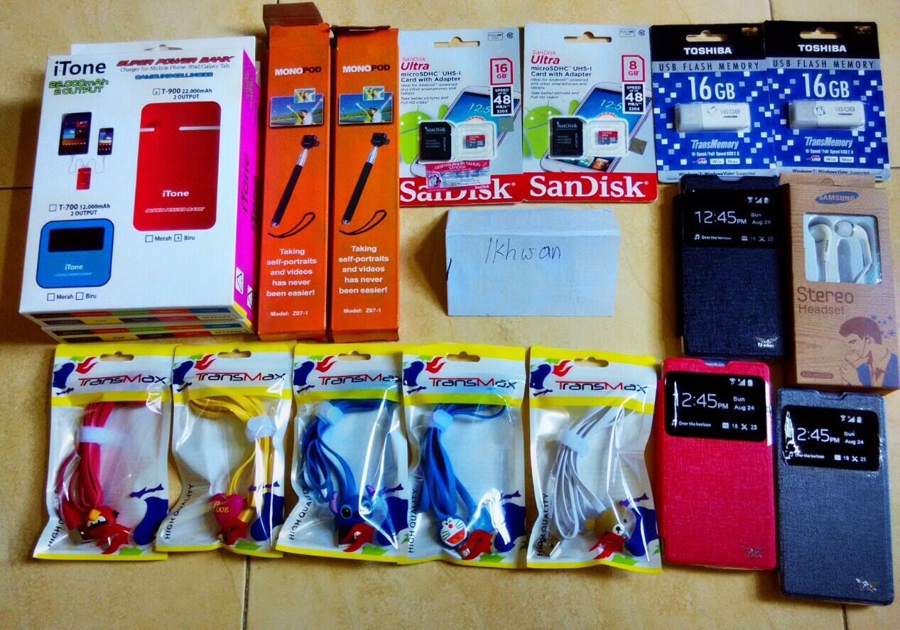 Terjual Aksesoris Xiaomi Redmi 1s Power Bank Memori
