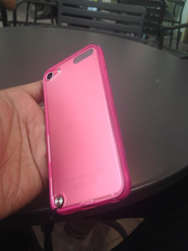 Ipod touch 5 32gb pink mulus