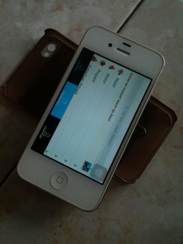 Iphone 4s 32 GB white mulus cuma hari ini aja