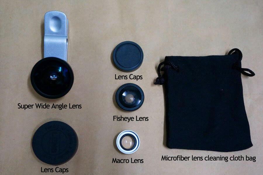 Lensa Handphone Smartphone Phablet Universal Clip 3 in 1 Photo Lens Keren Ngk Pasaran