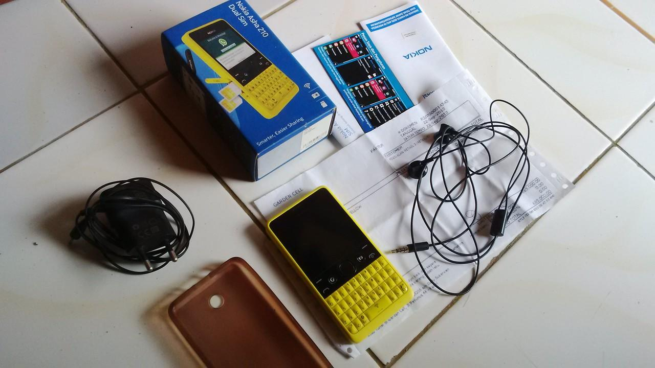 WTS Nokia Asha 210, murah2an aja gan lagi BU