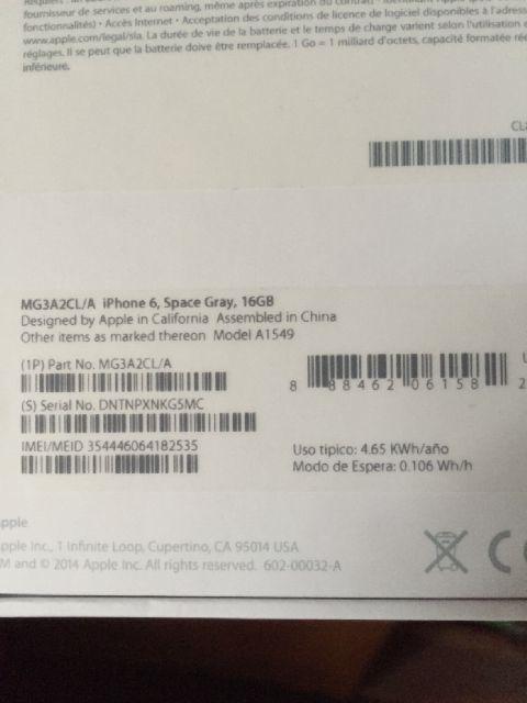 ««««« Iphone 6 16gb grey pmakaian 3hari harga aanccuuurrr 8,7 ajeeee→→→→