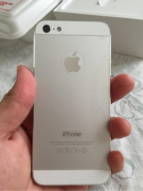 Iphone 5 White 16 GB Mulus