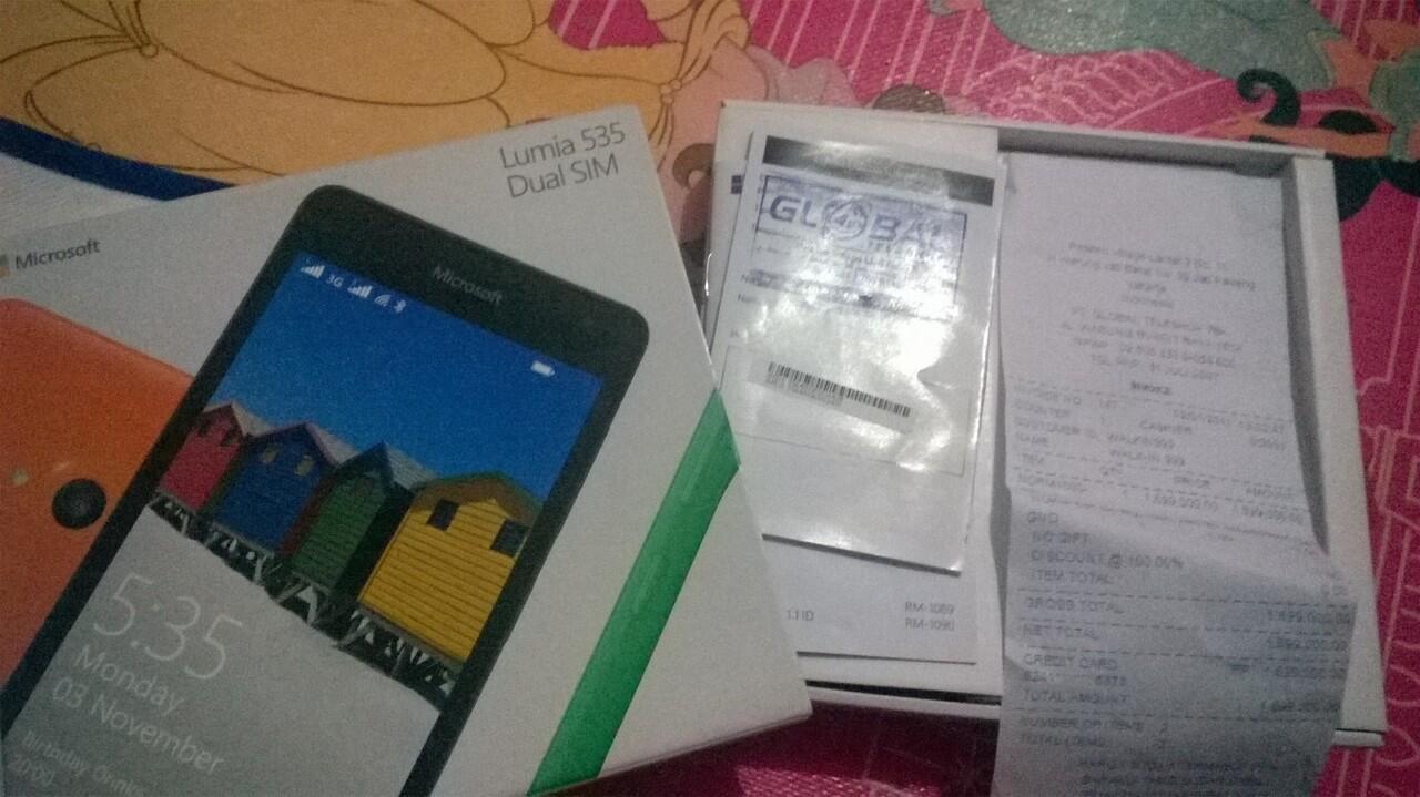 microsoft lumia 535 mint condition