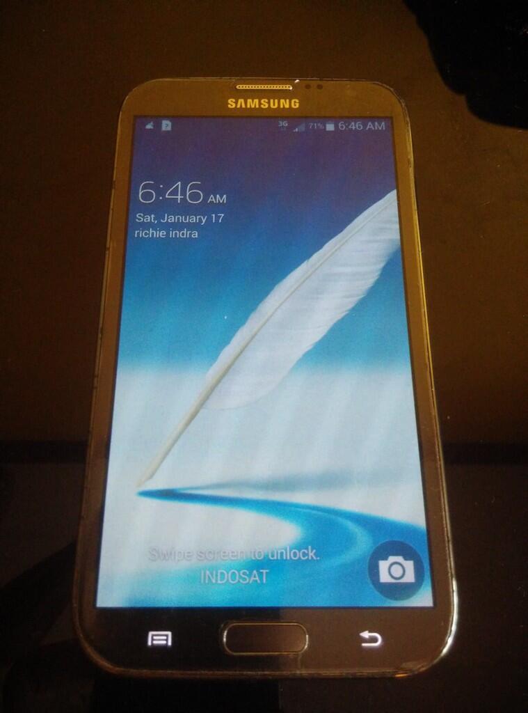 Galaxy Note II Grey from Verizon Fullset