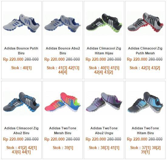 Sepatu Running Joging Kw Super Import Grade&Original Adidas Nike Reebok [Ready Stock]