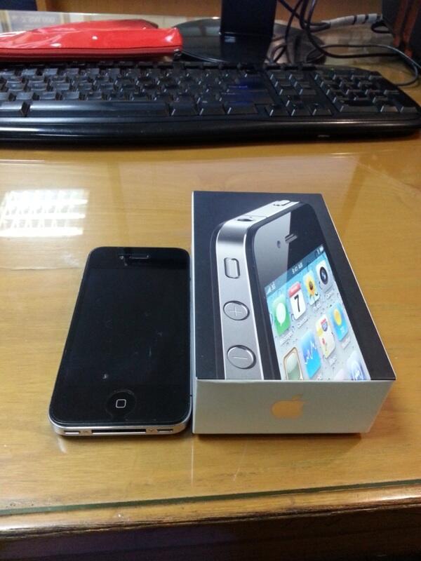 Iphone 4G 16gb (Malang)