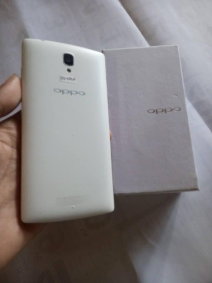 Oppo Neo 3 R831 White like new sebulan pake