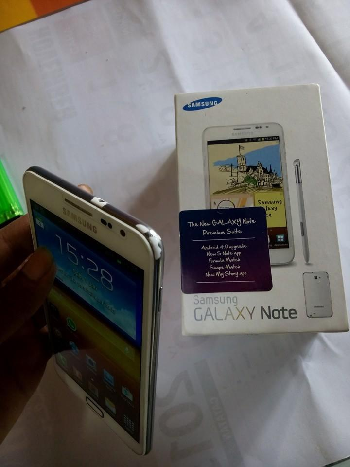 Samsung Galaxy Note 1 N7000 White Masih Segel Terawat