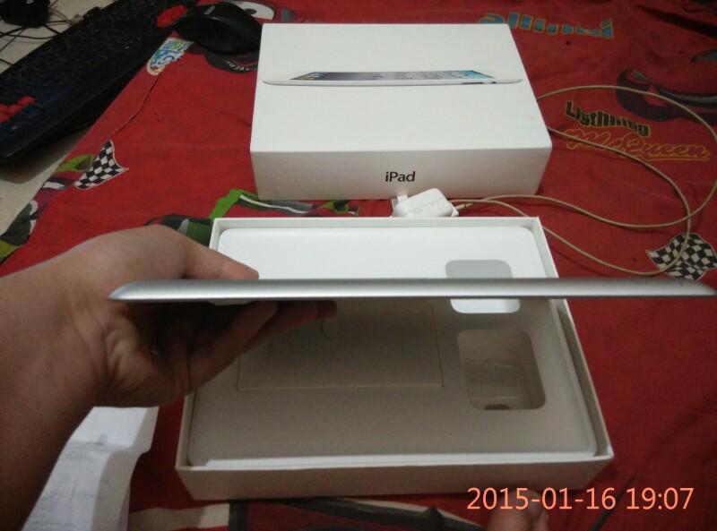 Semarang Ipad 2 3G+Wifi eks Garansi Resmi Mulus Fullset