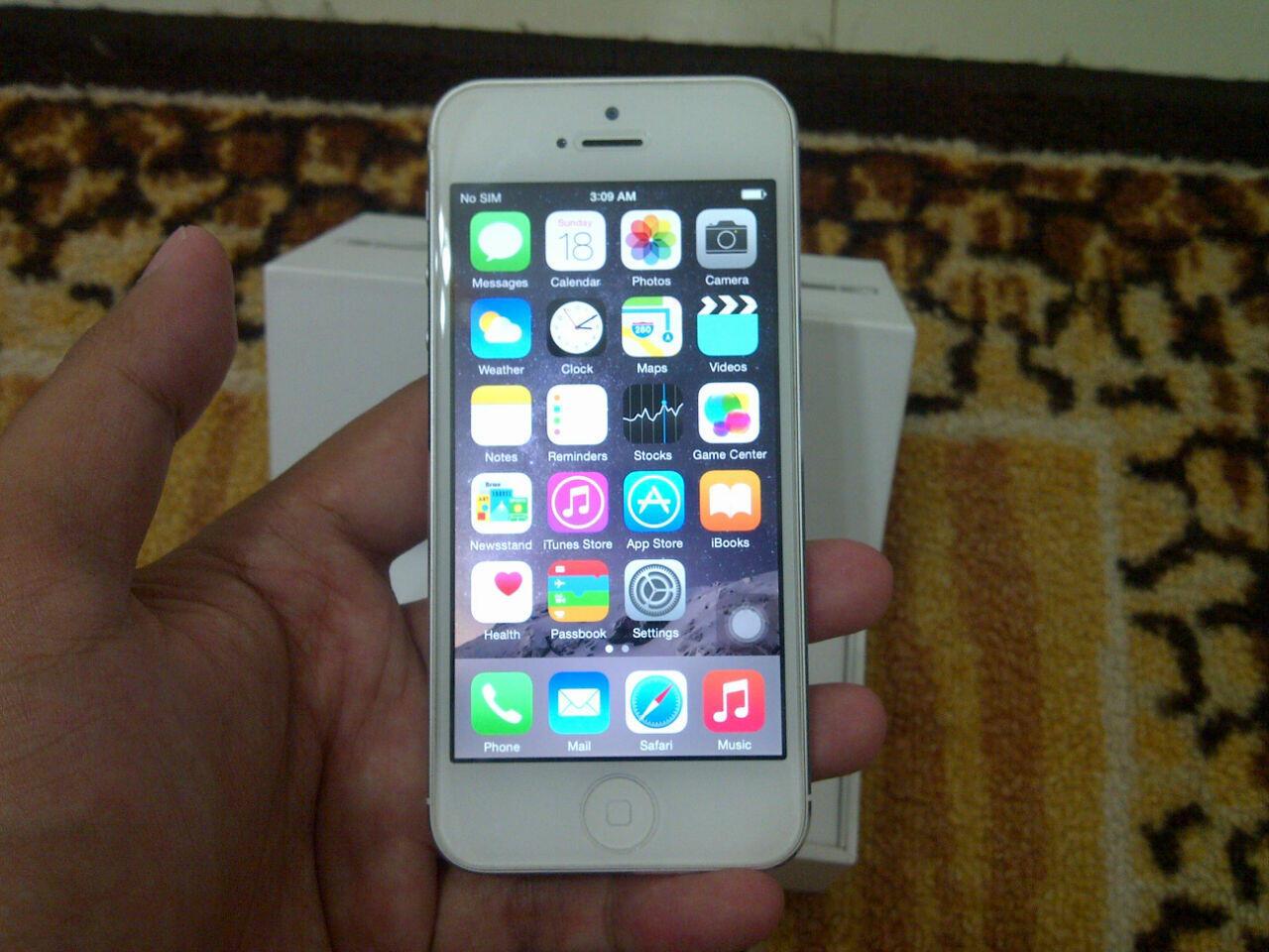 iPhone 5 32GB mulus, nego ala kaskus