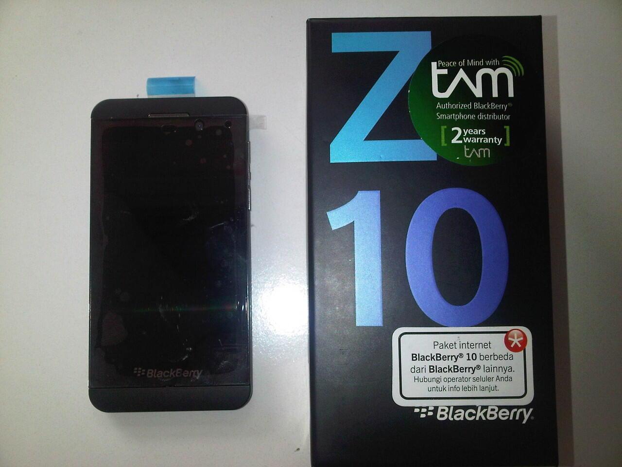 JUAL BLACKBERRY Z10 TAM 100% original