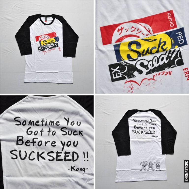 Ready stock Kaos Suckseed ALL SERIES ( 17 march, 80 million, suckseed days, JAPAN Ed)